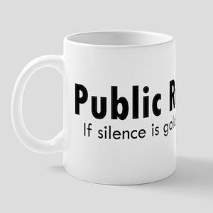black_pr_silence Mug