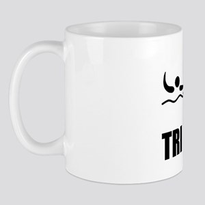 Dry Fit Tri like A Girl Black Mug