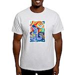 Surreal Seascape Watercolor Light T-Shirt