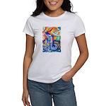 Surreal Seascape Watercolor Women's T-Shirt