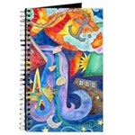 Surreal Seascape Watercolor Journal