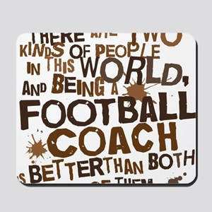 footballcoachbrown Mousepad