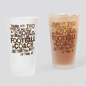 footballcoachbrown Drinking Glass