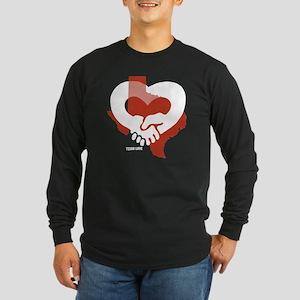 Texas-Love-W Long Sleeve Dark T-Shirt