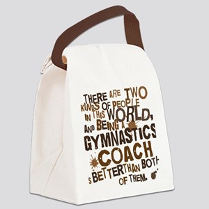 gymnasticscoachbrown Canvas Lunch Bag