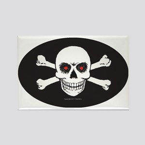 OTG 14 Jolly Roger 1 Rectangle Magnet
