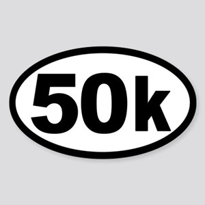 Ultra 50k Oval Sticker