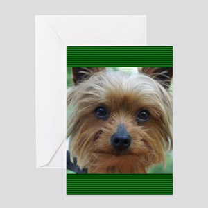 YorkshireTerrierJournal Greeting Card