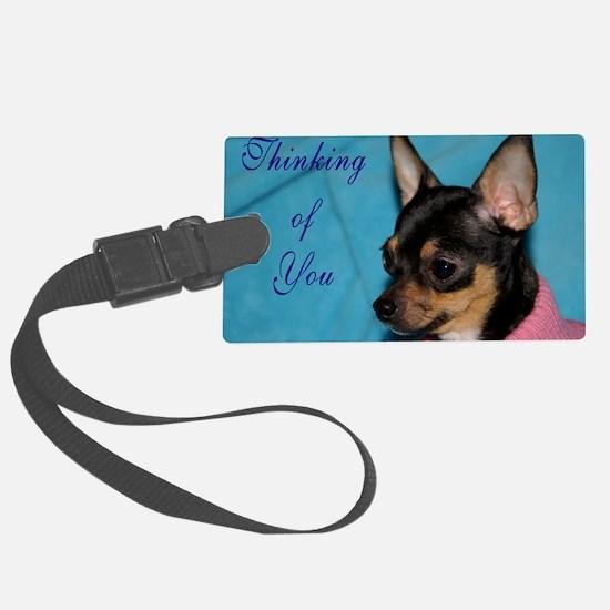 ChihuahuaGCard Luggage Tag