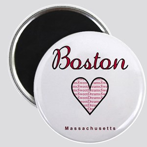 Boston_10x10_Massachusetts_SweetDreams_Blac Magnet