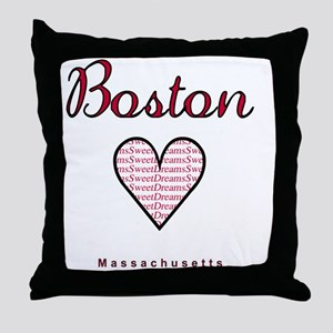 Boston_10x10_Massachusetts_SweetDream Throw Pillow