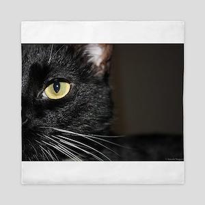 Cat eye Queen Duvet