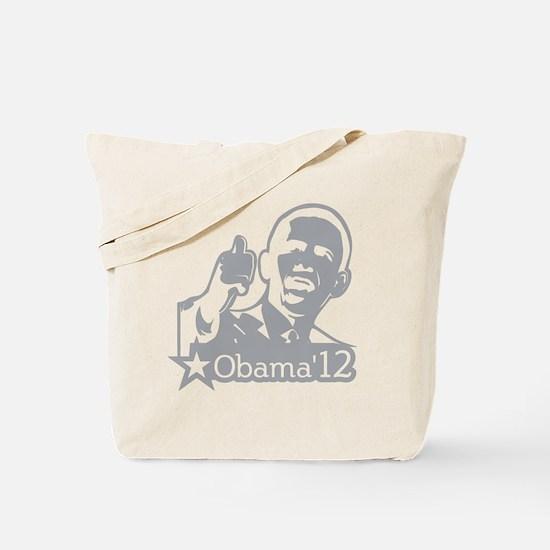 OBAMA_CHARCOAL_for dark2-01 Tote Bag