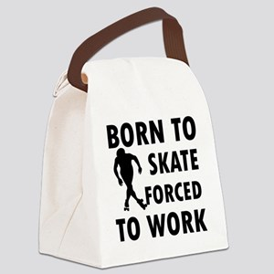 skate-roller Canvas Lunch Bag