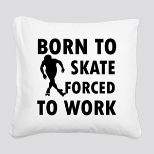 skate-roller Square Canvas Pillow