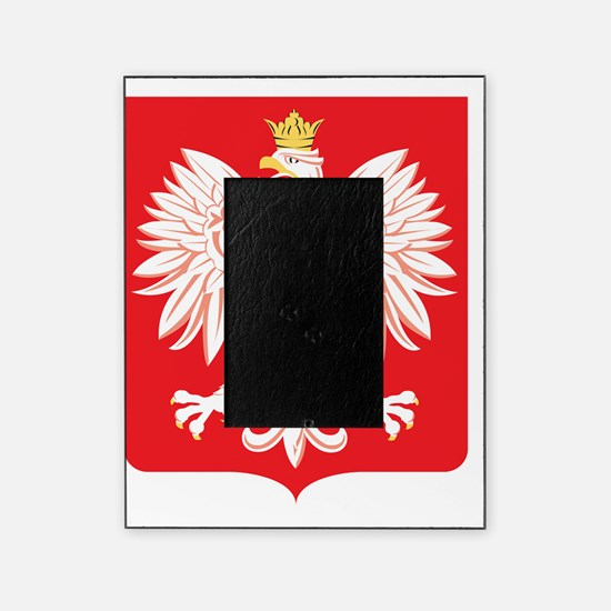 Polish Eagle Red Shield Picture Frame