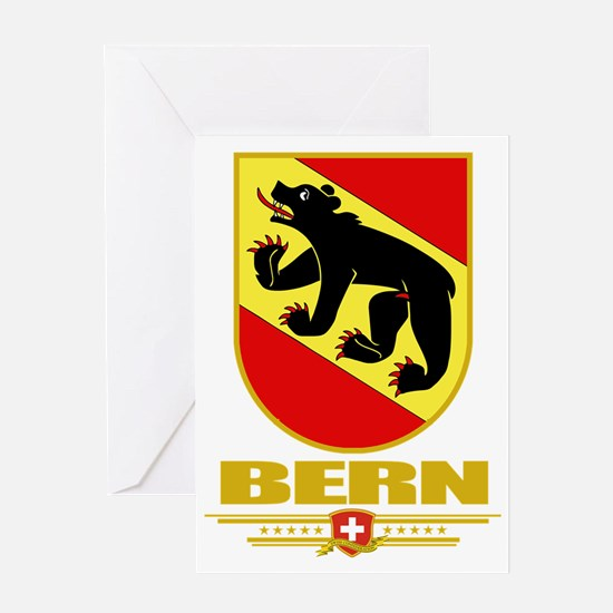 Bern (Flag 10) Greeting Card