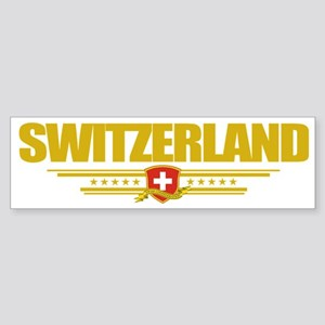 Switzerland (Flag 10) pocket Sticker (Bumper)