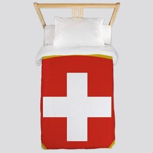 Switzerland (french) Arms Twin Duvet