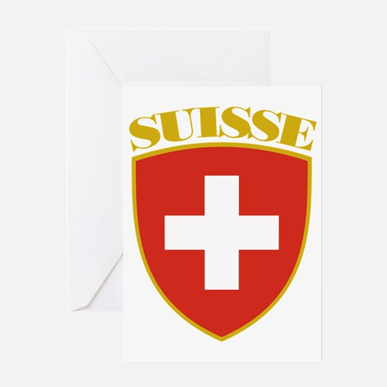 Switzerland (french) Arms Greeting Card