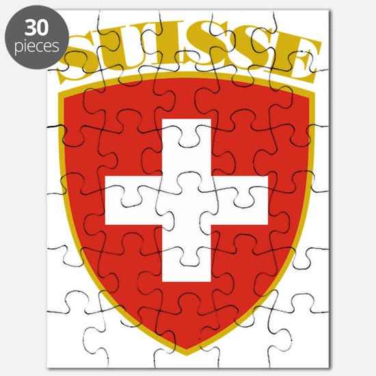 Switzerland (french) Arms Puzzle