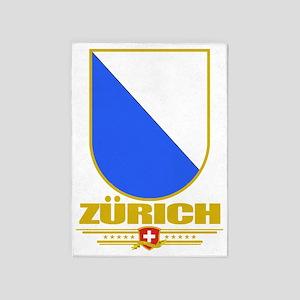 Zurich (Flag 10) 5'x7'Area Rug