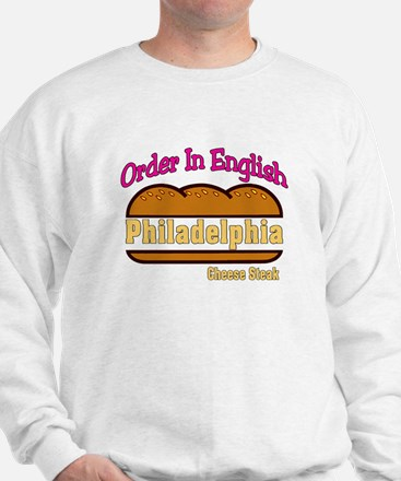 Order In English, Philly Chee Sweatshirt