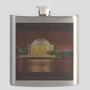 Jefferson Memorial Flask