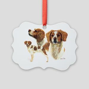 Brittany Picture Ornament