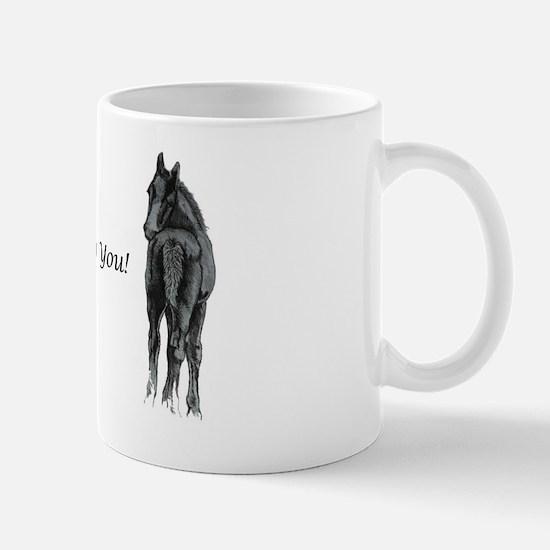 2 foals missing you Mug
