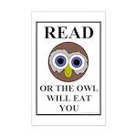 Owl Mini Poster Print