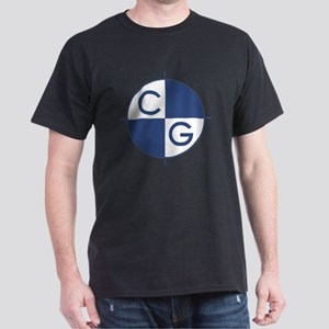 CG_blue_white Dark T-Shirt
