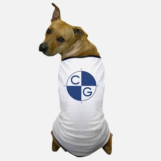 CG_blue_white Dog T-Shirt