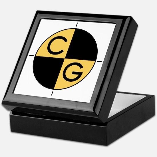 CG_yellow_black Keepsake Box