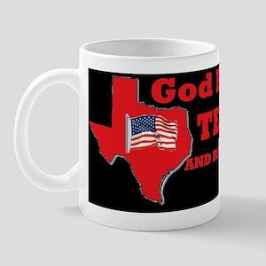TEXAS GOD BLESSDBUT Mug