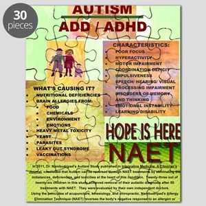 Small Autism Poster Puzzle
