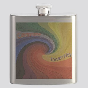 Diversity square Flask