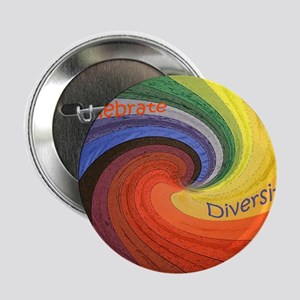 "Diversity square 2.25"" Button"