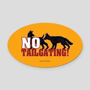 OTG 3 No tlgtg dogs Oval Car Magnet