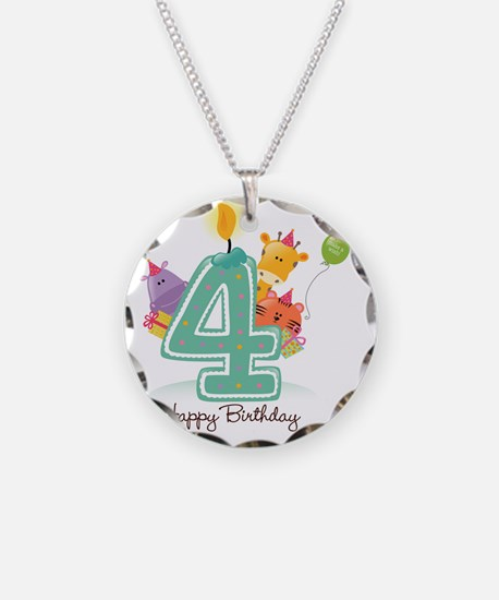 bigstock_Happy_Birthday_Cand Necklace