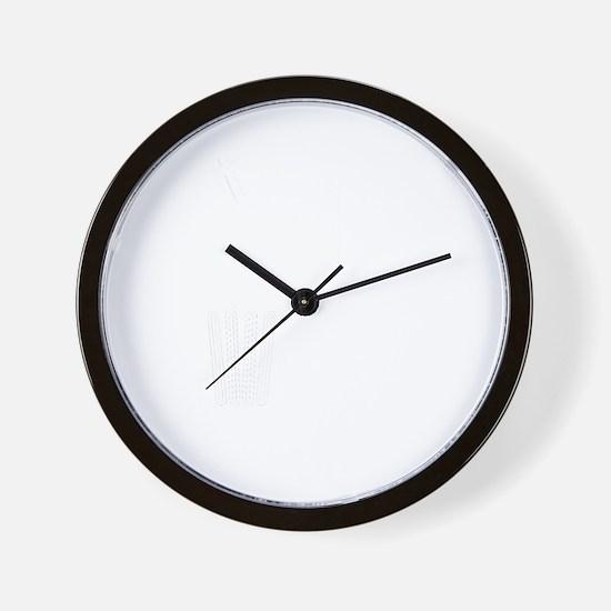 litterthink2dark Wall Clock