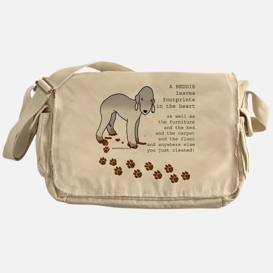 footprints-bedlington copy.gif Messenger Bag
