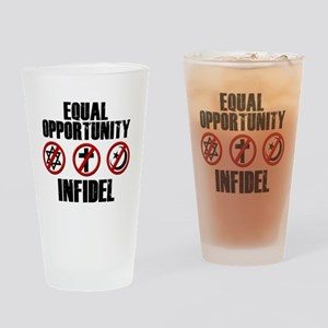 eqinfidel Drinking Glass