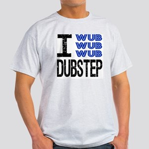 WUB DUBSTEP_blue Light T-Shirt