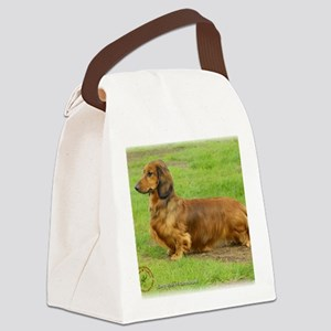 Dachshund 9R086D-033 Canvas Lunch Bag