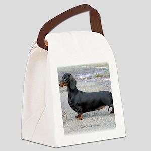 Dachshund 9J79D-07 Canvas Lunch Bag