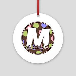 makayla Round Ornament