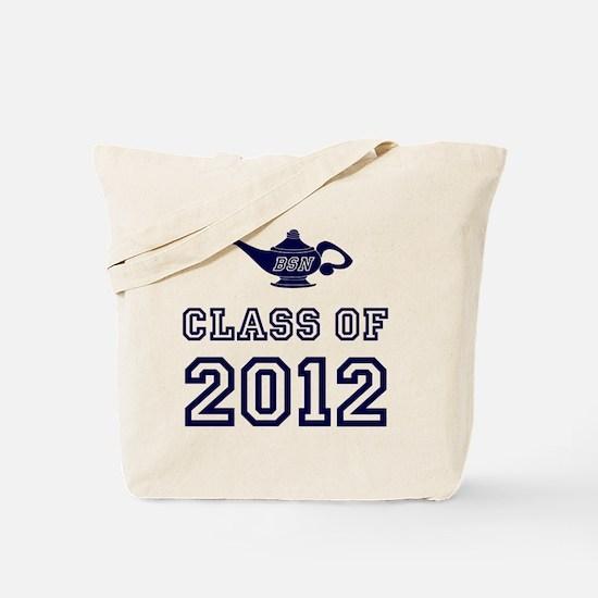 CO2012 BSN Navy Tote Bag