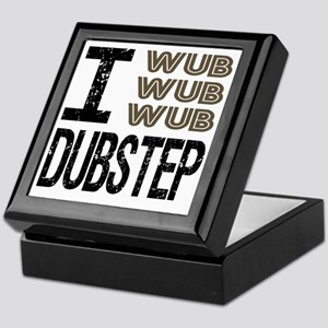 WUB DUBSTEP_brown.gif Keepsake Box