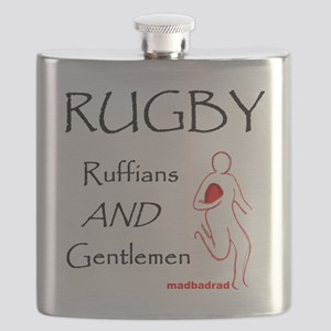 Rugby Ruffians and Gentlemen 1500 Flask